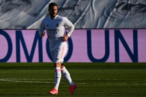Eden Hazard (Real Madrid) ontbreekt ook in return tegen Liverpool