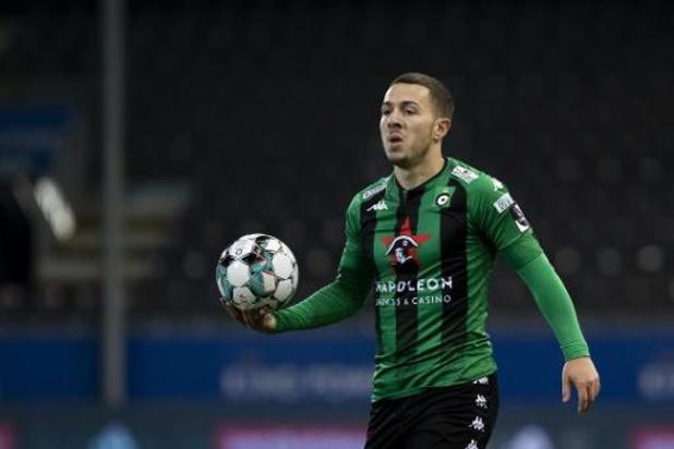 Le Cercle Bruges ne compte plus sur Kylian Hazard