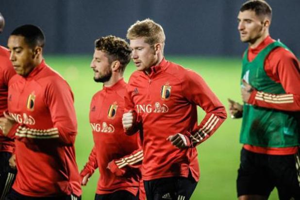 """Diables Rouges - """"Ce n'est pas une revanche contre l'Angleterre"""", estime Kevin De Bruyne"""