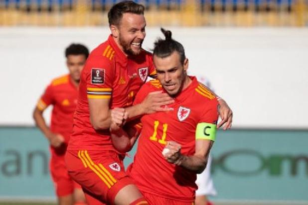 Wales slaakt zucht van opluchting na late winning goal van hattrickheld Gareth Bale