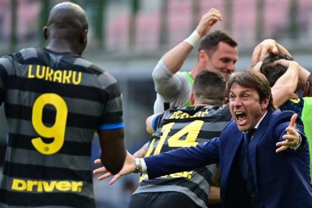 Belgen in het buitenland: Inter en Lukaku vieren 19e landstitel na gelijkspel Atalanta