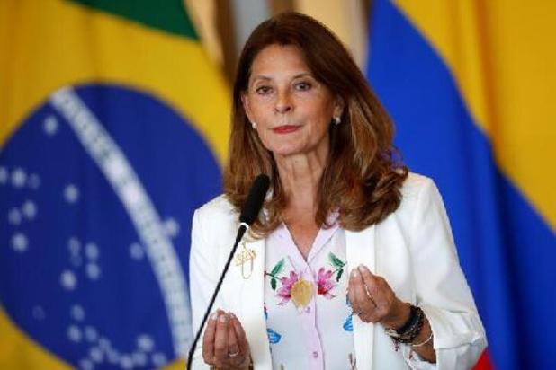 La vice-présidente colombienne en visite en Belgique et en Espagne