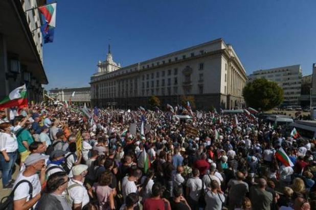 Demonstranten eisen aftreden premier Bulgarije