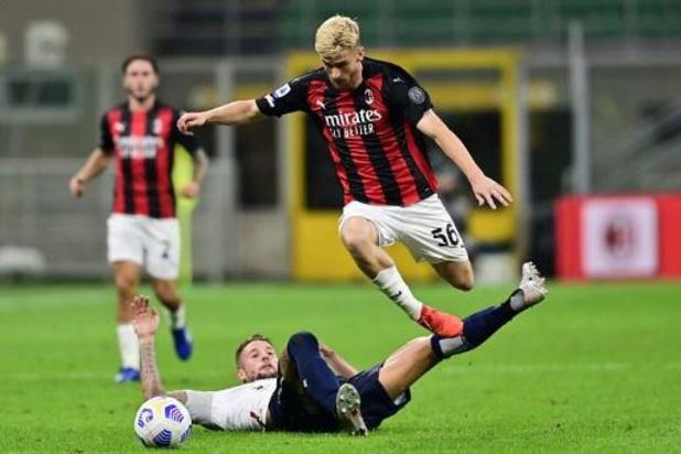 Les Belges à l'étranger - Milan, avec Saelemaekers buteur, se qualifie après une interminable séance de tirs au but