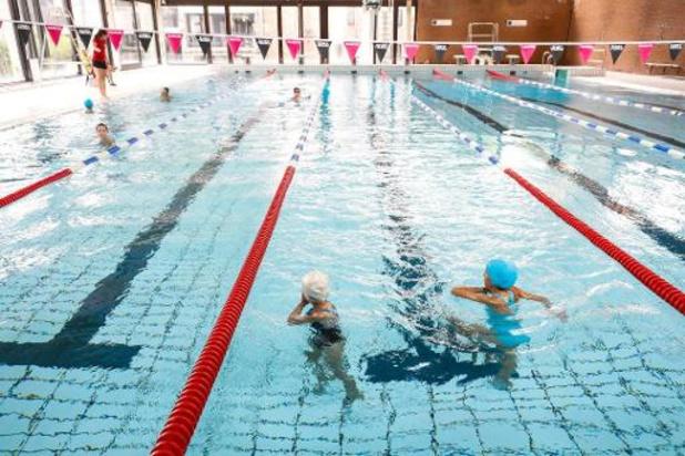 Une piscine sur cinq reste fermée en Fédération Wallonie-Bruxelles