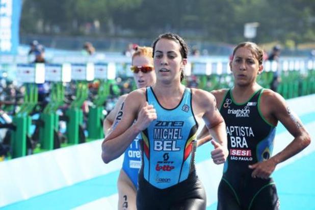 Claire Michel haalt brons in Tongyeong op WB triatlon