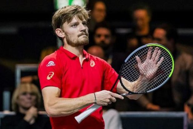 US Open - David Goffin staat in de tweede ronde