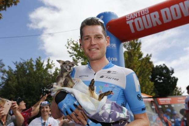 Ben Hermans a repris la route huit semaines après sa lourde chute en Australie