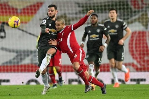 Belgen in het buitenland - Liverpool en Manchester United houden het op scoreloos gelijkspel