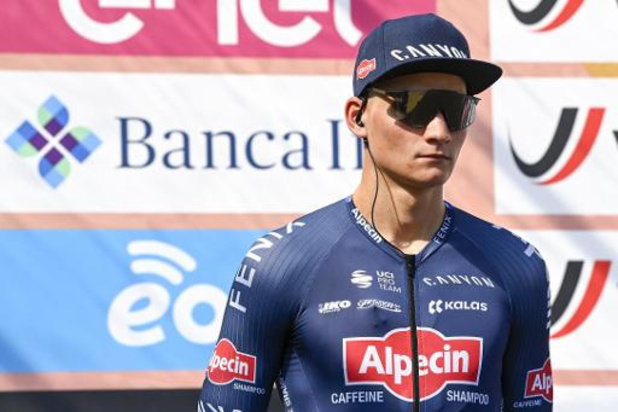 Mathieu van der Poel participera à la course sur route des championnats d'Europe