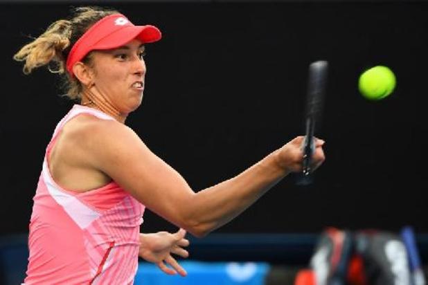 Elise Mertens passe sans douleur au 2e tour du simple aux dépens de Lara Arruabarrena