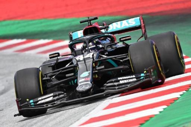 Lewis Hamilton is sterkste op Red Bull Ring