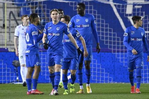 Jupiler Pro League - Racing Genk boekt makkelijke overwinning tegen Cercle Brugge