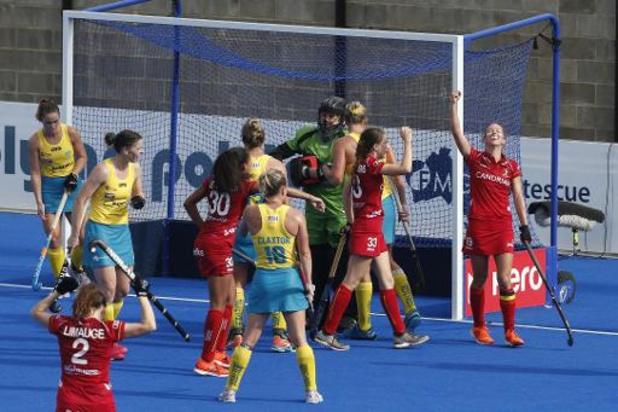 Hockey Pro League - Nouveau partage (1-1) des Red Panthers, avec point de bonus cette fois, en Australie