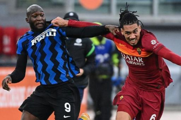 L'Inter Milan et Lukaku rejoints dans les dernières minutes à l'AS Rome