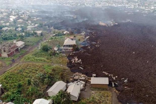Volcan Nyiragongo: près de 400.000 déplacés après l'évacuation de Goma