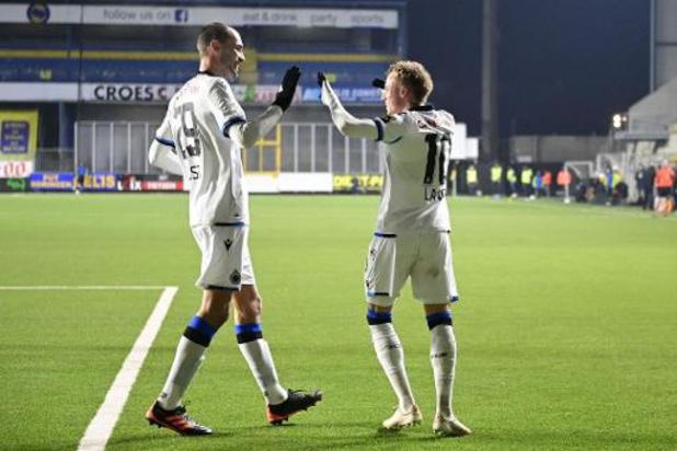 Jupiler Pro League - Club Brugge wint bij STVV, Dost scoort meteen bij debuut