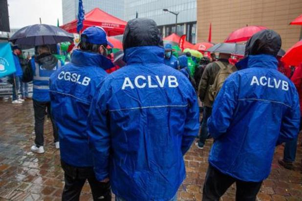 Liberale vakbond ACLVB roept daags voor staking op om terug te keren naar onderhandelingstafel