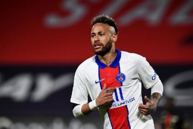 PSG moet geschorste Neymar missen in bekerfinale