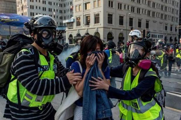 Onrust Hongkong - Hongkong maakt zich op voor nieuwe grote betoging
