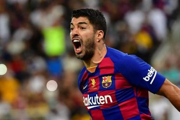 Luis Suarez (Barcelone) sera opéré du genou dimanche