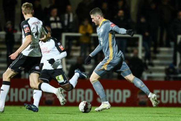 Proximus League - Roulers partage avec OH Louvain (2-2) et rejoint le Beerschot en tête