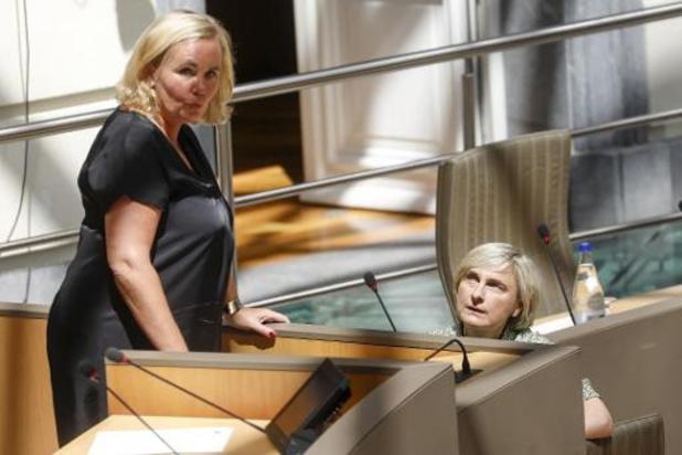 Coronavirus - Mme Homans, testée négative, retrouvera mercredi le perchoir au parlement flamand