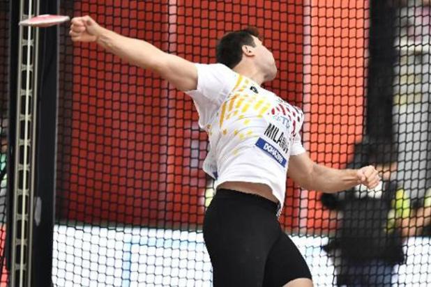 Mondiaux d'athlétisme - Philip Milanov 29e et éliminé des qualifications du lancer du disque