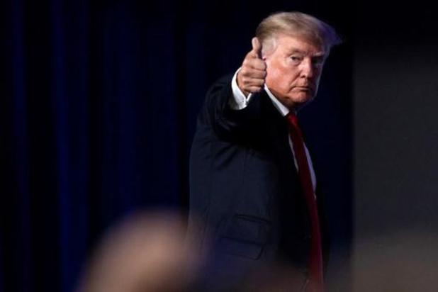 """""""Belastingaangifte Trump moet naar Congres"""" (ministerie van Justitie)"""
