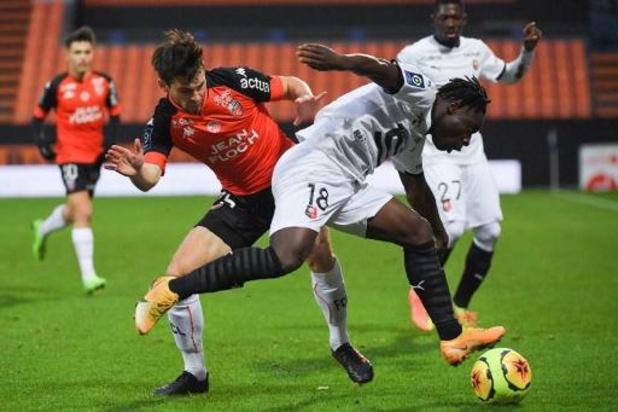 Les Belges à l'étranger - Jérémy Doku, passeur, s'impose avec Rennes à Lorient, Ndayishimiye buteur avec Willem II
