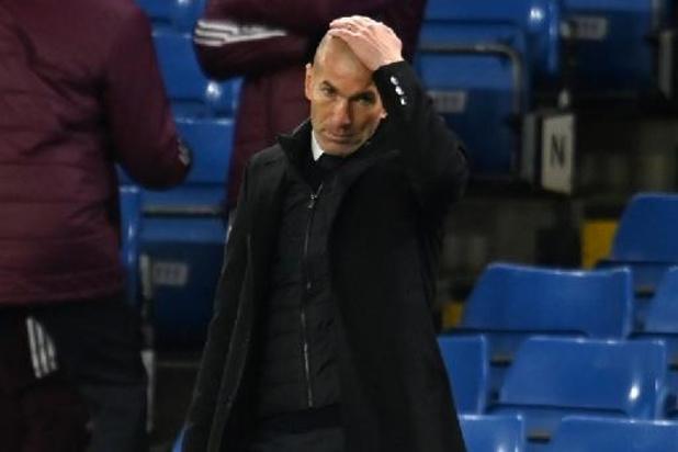 "La Liga - Real-coach Zidane na dubieuze strafschopfase: ""Ik begrijp er niets van"""