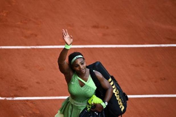 """Roland-Garros - Dernier match à Paris? """"Je n'y pense pas du tout"""", répond Serena Williams"""