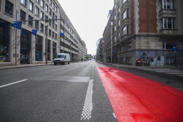 Touring presenteert eigen Brussels fietsplan waar geen rijstroken geschrapt worden