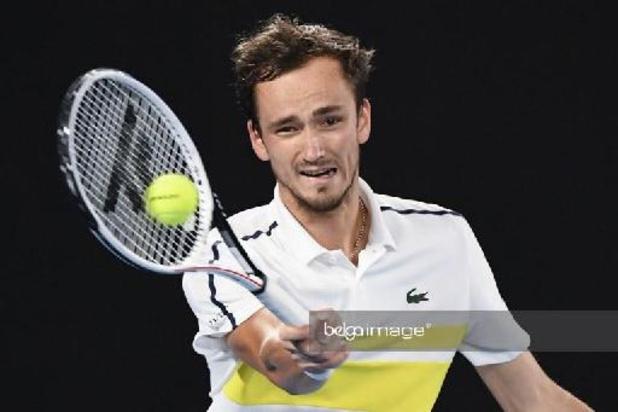 ATP Marseille - Medvedev en finale et assuré d'être N.2 mondial