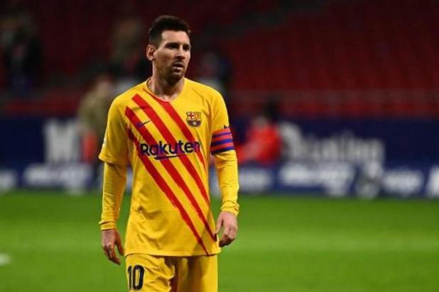 Barcelone laisse Messi au repos contre Kiev