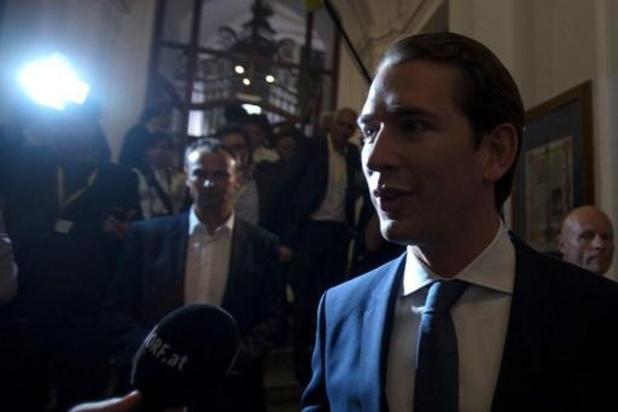 Parlementsverkiezingen Oostenrijk - ÖVP van Kurz haalt 38,4 procent