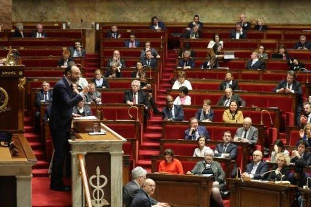 Sociale onrust Frankrijk - Pensioenhervorming wordt aangenomen in Assemblée Nationale