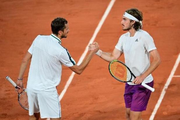 Daniil Medvedev et Stefanos Tsitsipas disputeront le Masters de fin de saison