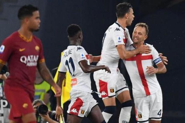 Serie A: Trois nouveaux positifs au Genoa, pour un total de 22 personnes contaminées