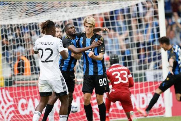 Jupiler Pro League - Club Brugge ontsnapt diep in blessuretijd aan nederlaag tegen Eupen