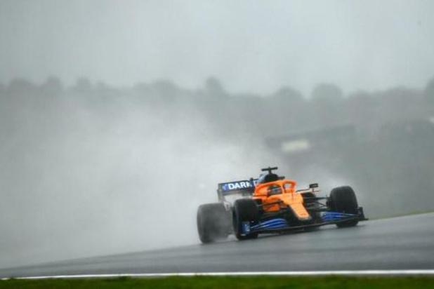 Sainz (McLaren) pénalisé de trois places sur la grille du GP de Turquie dimanche