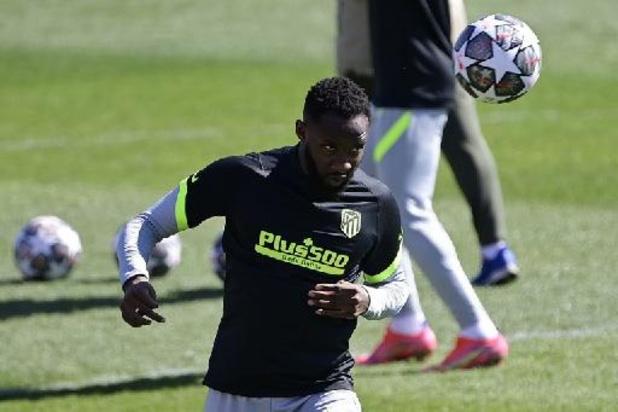 Atlético Madrid: Moussa Dembélé victime d'une baisse de tension à l'entraînement