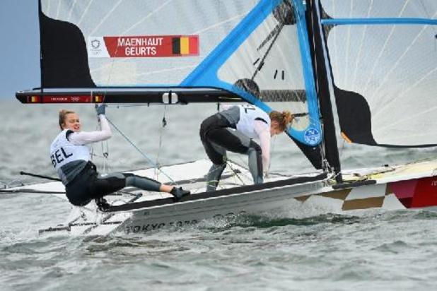 Maenhaut en Geurts zevende na vierde regatta