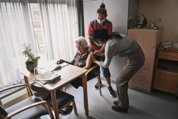 Tweede vaccinatiedag op gang gekomen in Vlaams-Brabantse woonzorgcentra