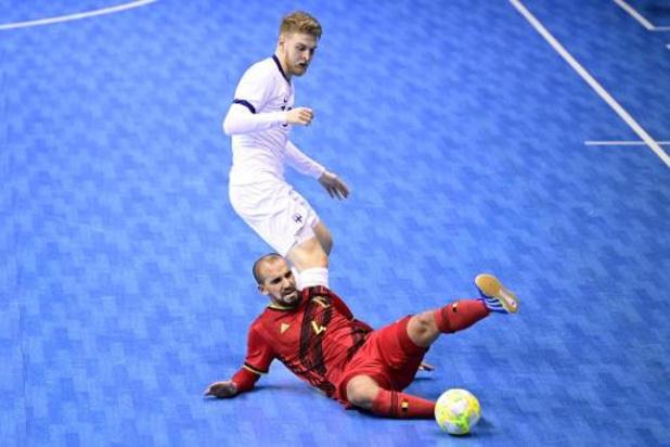Kwal. EK futsal 2022 (m) - België blijft steken op gelijkspel tegen Finland