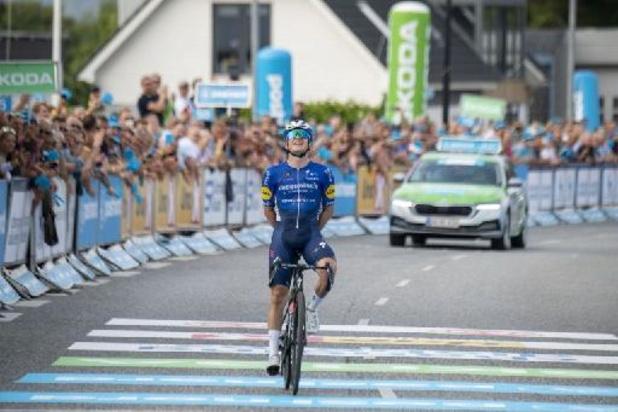 Victoire finale de Remco Evenepoel qui remporte aussi le dernier chrono