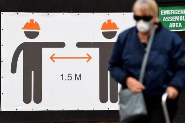 L'Australie va réduire de moitié les arrivées, record d'infections à Melbourne