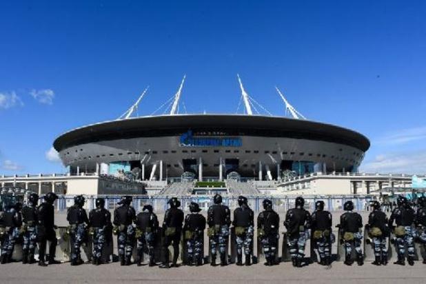 """Euro 2020: les organisateurs russes n'ont """"pas peur"""" du Covid-19"""