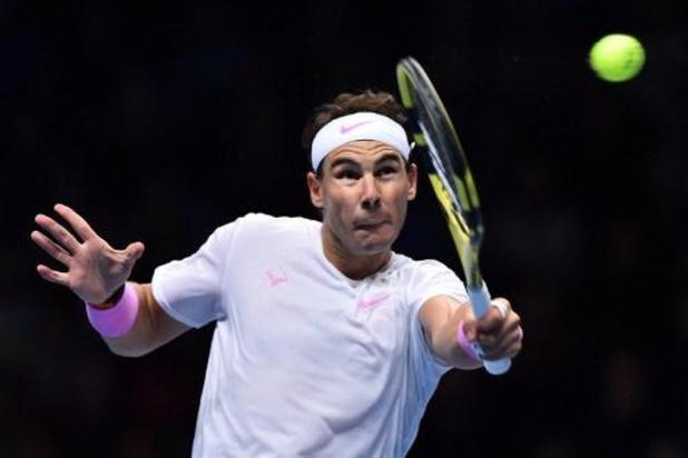 Masters ATP: Nadal, tombeur de Tsitsipas, doit désormais miser sur une victoire de Medvedev