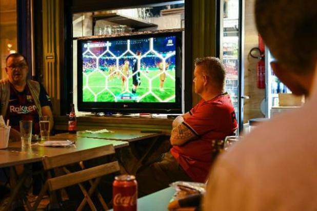 Plus de 3 millions de Belges devant le petit écran pour suivre le match contre la Russie